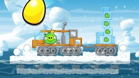 Angry Birds Seasons Arctic Eggspedition Golden Egg 47 Walkthrough 2013