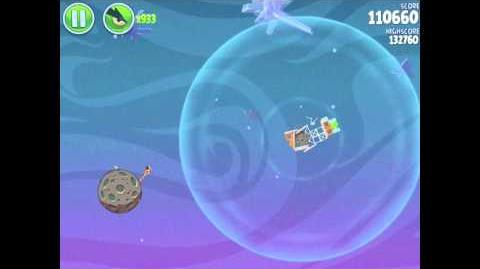 Angry Birds Space Fry Me to the Moon 3-7 Walkthrough 3-Star