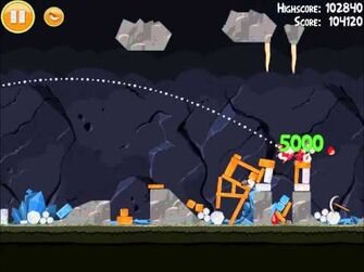 Official Angry Birds Walkthrough Mine and Dine 15-3