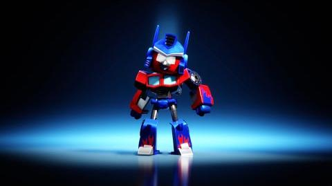 Angry Birds Transformers Red as Optimus Prime!