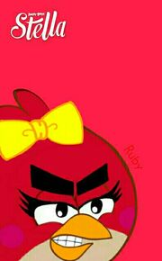 Ruby Angry Birds Stella cover