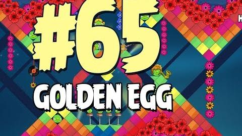 Angry Birds Seasons Invasion of the Egg Snatchers Golden Egg 65 Walkthrough