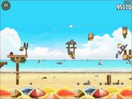 Official Angry Birds Rio Walkthrough Beach Volley 6-14