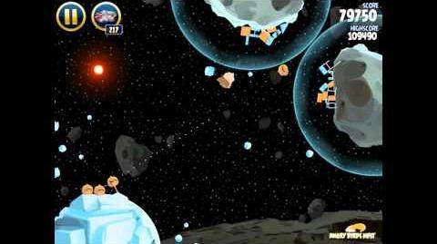 Angry Birds Star Wars 3-21 Hoth 3-Star Walkthrough