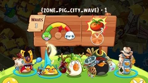 Angry Birds Epic Pig City Level 2 Walkthrough