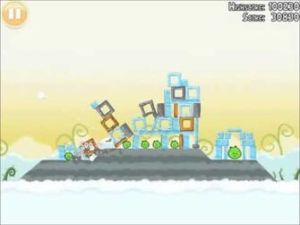Official Angry Birds Walkthrough Danger Above 8-6