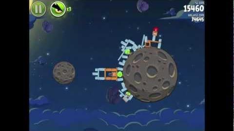 Angry Birds Space Pig Bang 1-27 Walkthrough 3-star