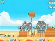 Official Angry Birds Rio Walkthrough Beach Volley 5-15