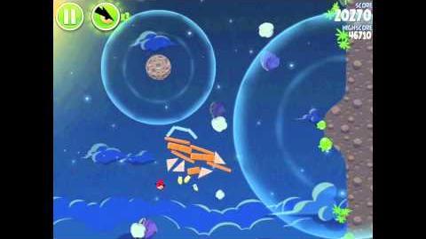 Angry Birds Space Pig Bang 1-25 Walkthrough 3-star