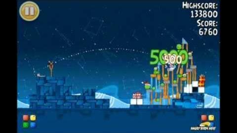 Angry Birds Seasons Intel Golden Egg Level 1