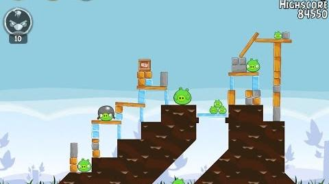 Angry Birds 29-4 Flock Favorites 3 Star Walkthrough