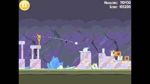 Angry Birds 17-7 Mine & Dine 3 Star Walkthrough