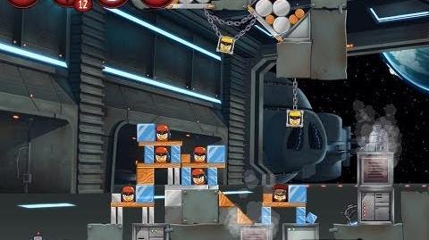 Angry Birds Star Wars 2 Level P1-9 Naboo Invasion 3 star Walkthrough