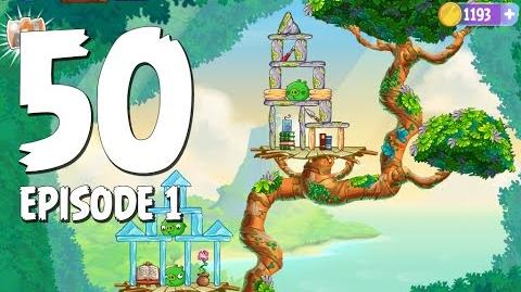Angry Birds Stella Level 50 Walkthrough Branch Out Episode 1