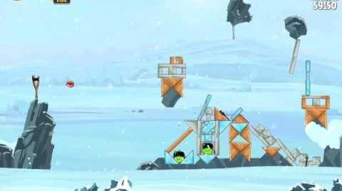 Angry Birds Star Wars 3-10 Hoth 3-Star Walkthrough