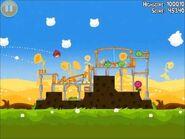 Official Angry Birds Seasons Walkthrough Summer Pignic 1-1