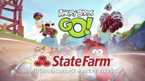 Angry Birds Go! Exclusive State Farm Power-up