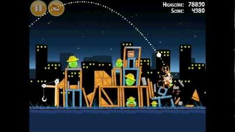 Angry Birds Big Setup 11-10 Walkthrough 3 Star