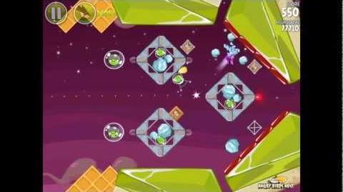 Angry Birds Space Utopia 4-17 Walkthrough 3-Star