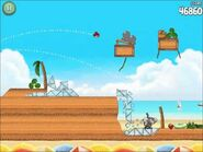 Official Angry Birds Rio Walkthrough Beach Volley 6-11