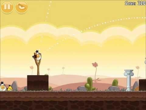 Official Angry Birds Walkthrough Poached Eggs 3-12