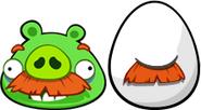 KPM Moustache Pig