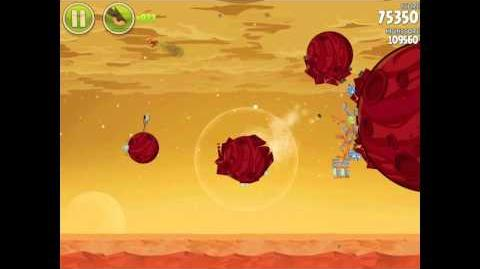 Angry Birds Space Red Planet 5-18 Walkthrough 3-Star