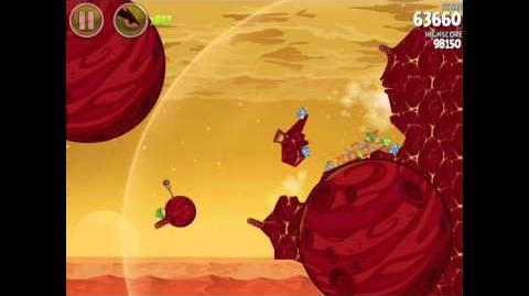 Angry Birds Space Red Planet 5-17 Walkthrough 3-Star