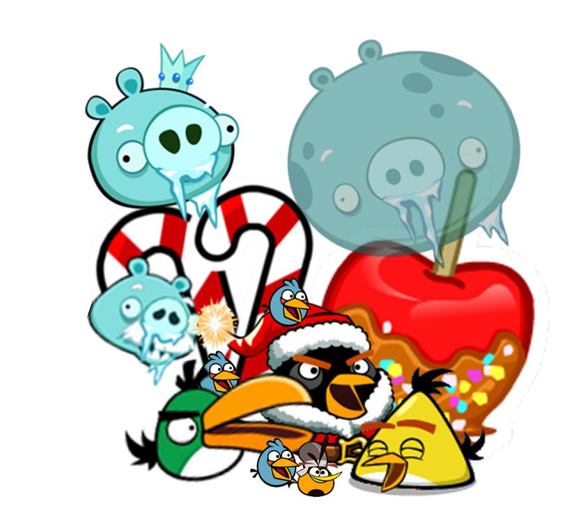 Image - Christmas Group.png | Angry Birds Wiki | FANDOM powered by ...