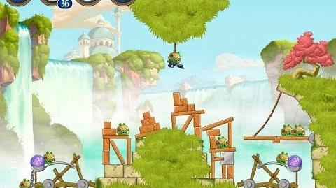 Angry Birds Star Wars 2 Bonus Level B1-S3 Naboo Invasion 3 star Walkthrough