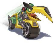 GRIMLOCK MOTORCYCLE