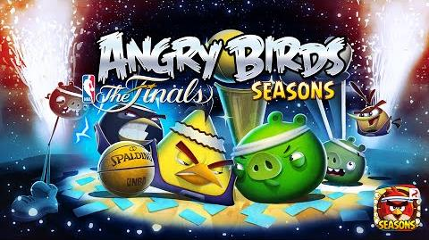ANGRY BIRDS SEASONS HAM DUNK FINALS - GAMEPLAY TRAILER