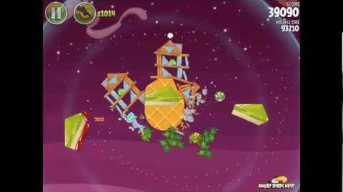 Angry Birds Space Utopia 4-16 Walkthrough 3-Star