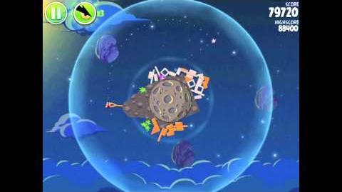 Angry Birds Space Pig Bang 1-23 Walkthrough 3-star
