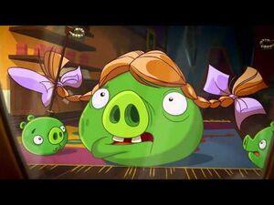 """Angry Birds Toons episode 30 sneak peek """"Piggy Wig"""""""