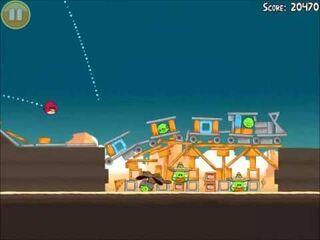 Official Angry Birds Walkthrough Ham 'Em High 12-15
