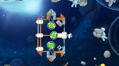 Angry Birds Space Beak Impact 8-7 Walkthrough 3 Star