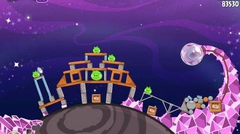 Angry Birds Space Cosmic Crystals 7-22 Walkthrough 3 Star