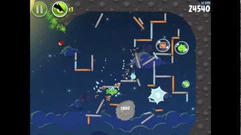 Angry Birds Space Pig Bang 1-26 Walkthrough 3-star