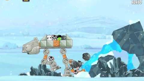 Angry Birds Star Wars 3-11 Hoth 3-Star Walkthrough