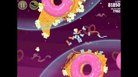 Angry Birds Space Utopia 4-5 Walkthrough 3-Star