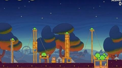 Angry Birds Seasons Abra-ca-Bacon 2-3 Walkthrough 3-Star