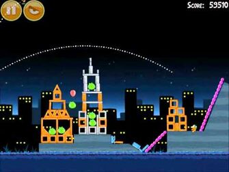 Official Angry Birds Walkthrough Danger Above 7-15