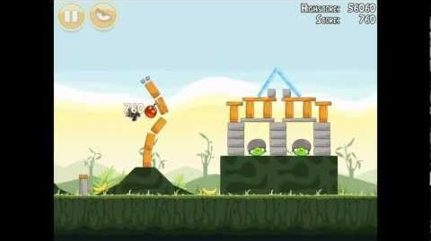 Angry Birds Poached Eggs 2-19 Walkthrough 3 Star