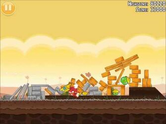 Official Angry Birds Walkthrough The Big Setup 9-15