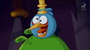 PIGGY WIG BLUE BIRD FUNNY FACE 2
