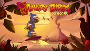 Angry Birds Seasons Loading Screen Tropigal Paradise