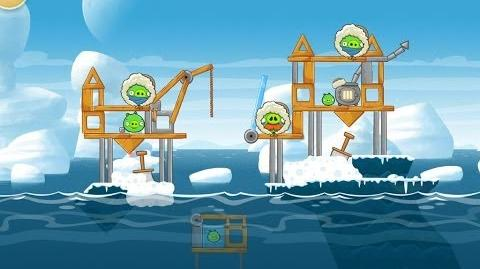 Angry Birds Seasons Arctic Eggspedition 1-11 Walkthrough 3 Star
