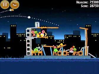 Official Angry Birds Walkthrough Danger Above 7-4
