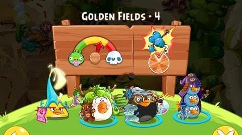 Angry Birds Epic Golden Fields Level 4 Walkthrough